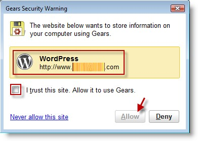 google-gears-warning-screen