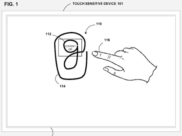 Continuous Search Gesture for Android Devices
