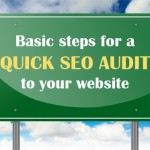 Basic steps for a quick seo audit to your website