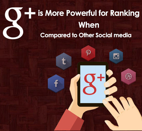 Why G+ is More Powerful for Ranking When Compared to Other Social Media Sites